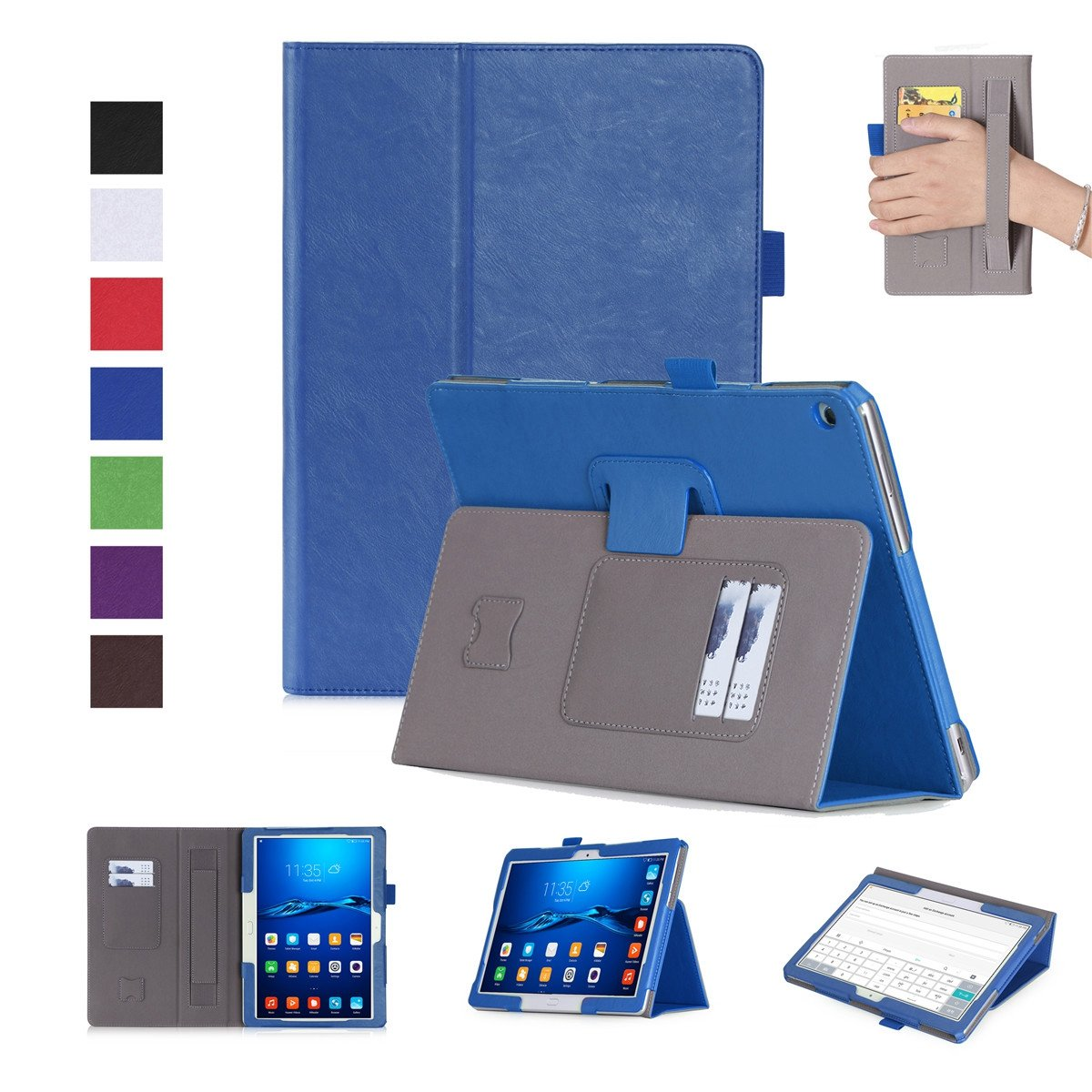 最安値で  FugouSell B07LCHP7XX Huawei MediaPad M3 Lite Lite 10.0用ケース プレミアムPUレザー[フリップスタンド] Lite スリム財布ケース フルボディ保護カバー Huawei MediaPad M3 Lite 10.0用 (ブルー) B07LCHP7XX, ピストバイク BROTURES:8b4d1d0d --- a0267596.xsph.ru