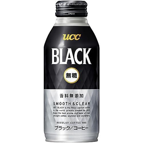 UCC ブラック無糖 SMOOTH&CLEAR ブラックコーヒー 缶コーヒー 375ml×24本
