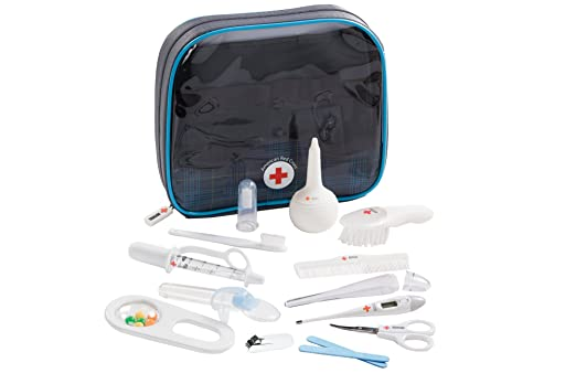 Amazon.com : The First Years American Red Cross Baby Healthcare And Grooming Kit : Baby Health And Personal Care Kits : Baby