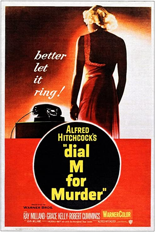 Amazon.com: Posterazzi EVCMMDDIMMEC003 Dial M For Murder Movie ...