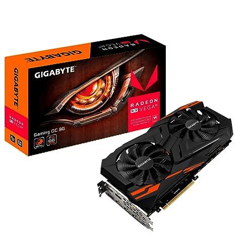 Gigabyte RX Vega 56 Gaming OC 8G Radeon RX Vega 56 8GB - Tarjeta ...