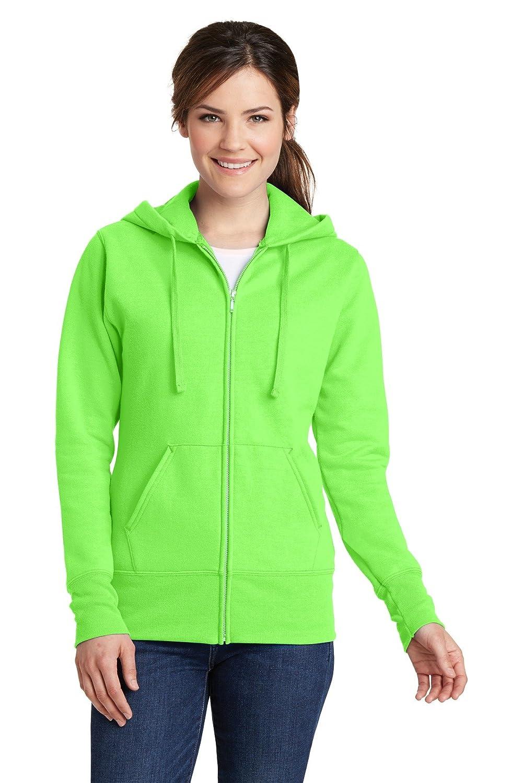 Port & Company damen Classic Full-Zip Hooded Sweatshirt (LPC78ZH)