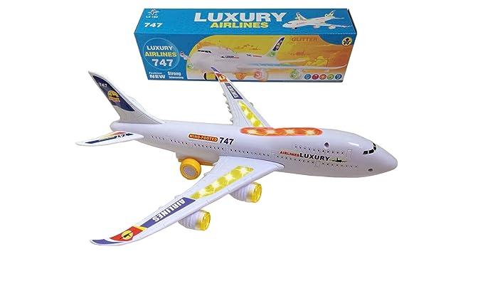 23 opinioni per ToyZe Bump and Go Action, giocattolo aereo Boeing 747, con luci e suoni reali.