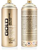 Montana GOLD Acrylic Professional Spray Paint 400 ml - Goldchrome