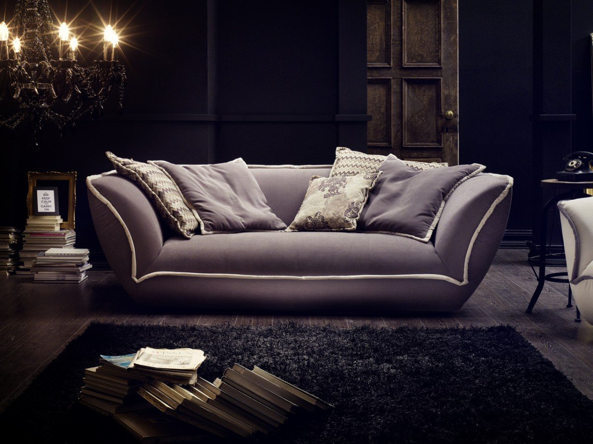 Dreams4Home Megasofa U0027Suprau0027   Couch, Sofa, Wohnzimmer, Polstergarnitur,  Bigsofa,