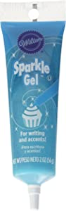 Wilton Light Blue Sparkle Gel Icing Dispenser
