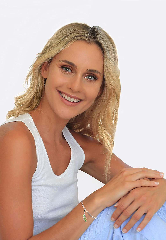 Nenalina Pendentif Charm Chameleon en Argent Sterling pour Tous Les Bracelets Charm 714142-001
