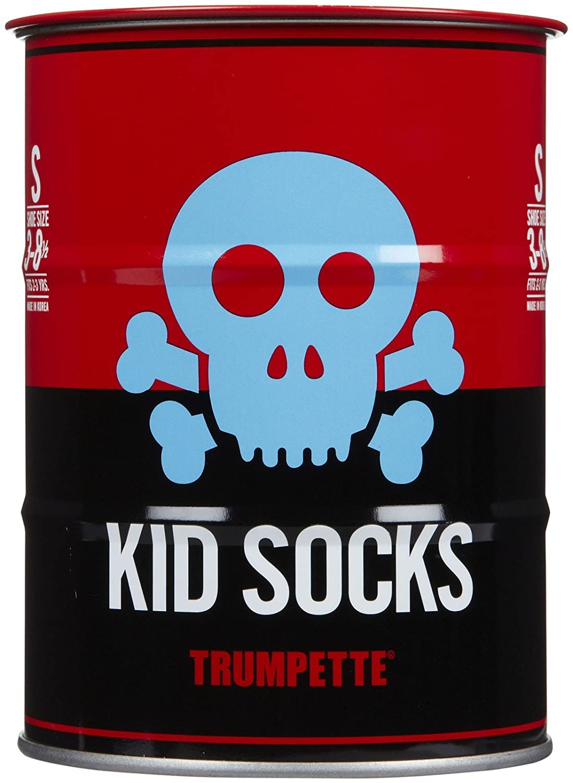 Trumpette Little Boys Skull Kid Socks Bright Skull Toddler//Kid