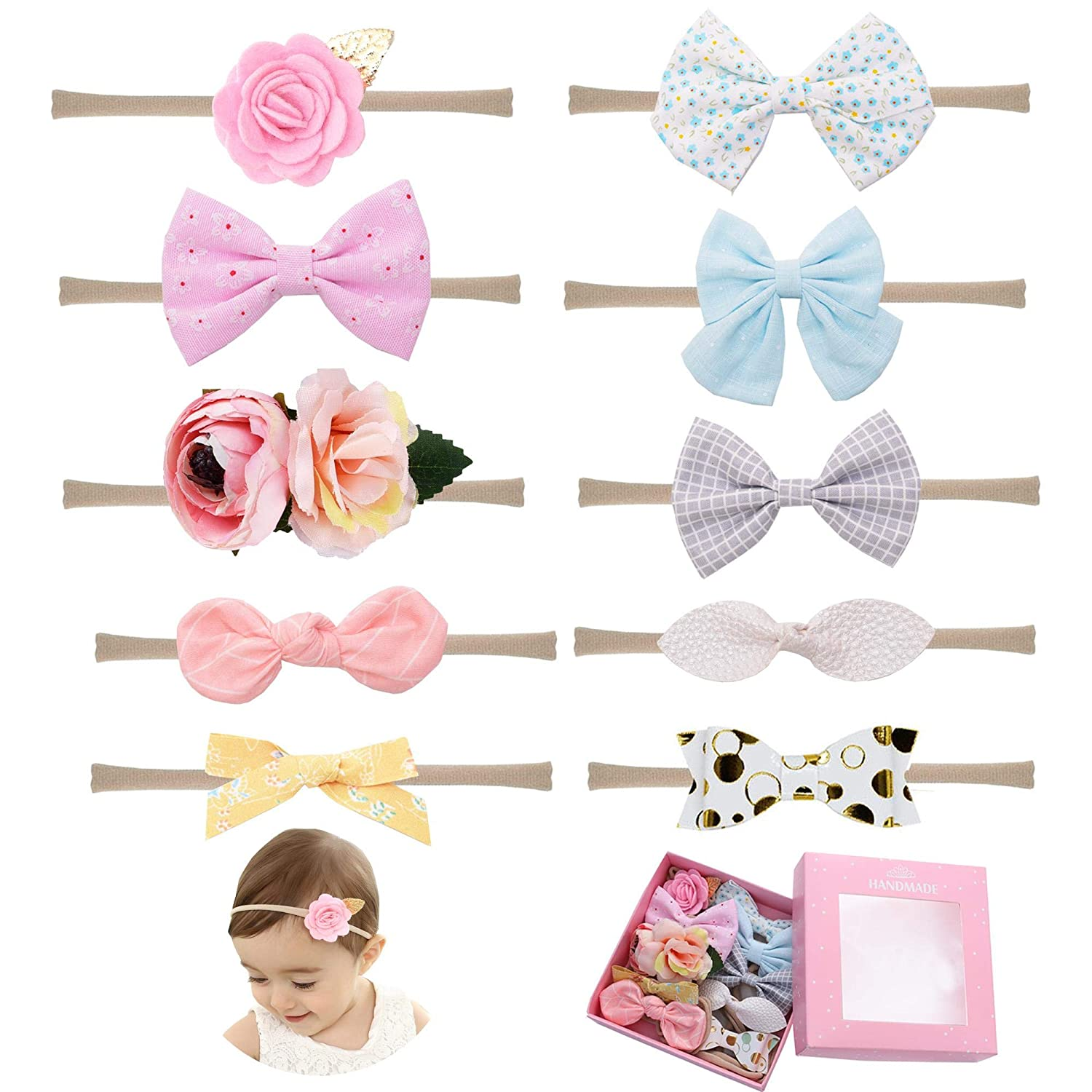 Girl's Accessories 4 Inch Top Rhinestone Softball Baseball Hairpins Leather Flower Hairclips Handmade Women Girls Hair Bows Strong Resistance To Heat And Hard Wearing