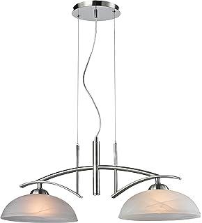 Design Hängelampe Hängeleuchte Pendellampe Pendelleuchte Deckenlampe Lampe Glas