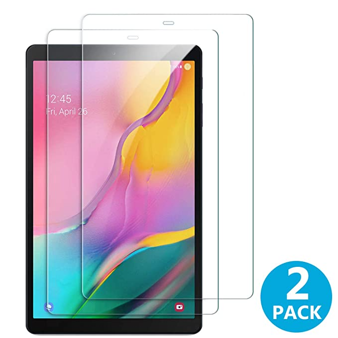 "2x Tempered Glass Screen Protector for Samsung Galaxy Tab A 10.1/"" 2019 T510 T515"