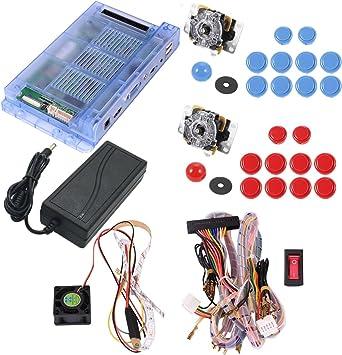 Amazon.es: Arcade DIY kit 2 jugadores arcade stick caja de Pandora ...
