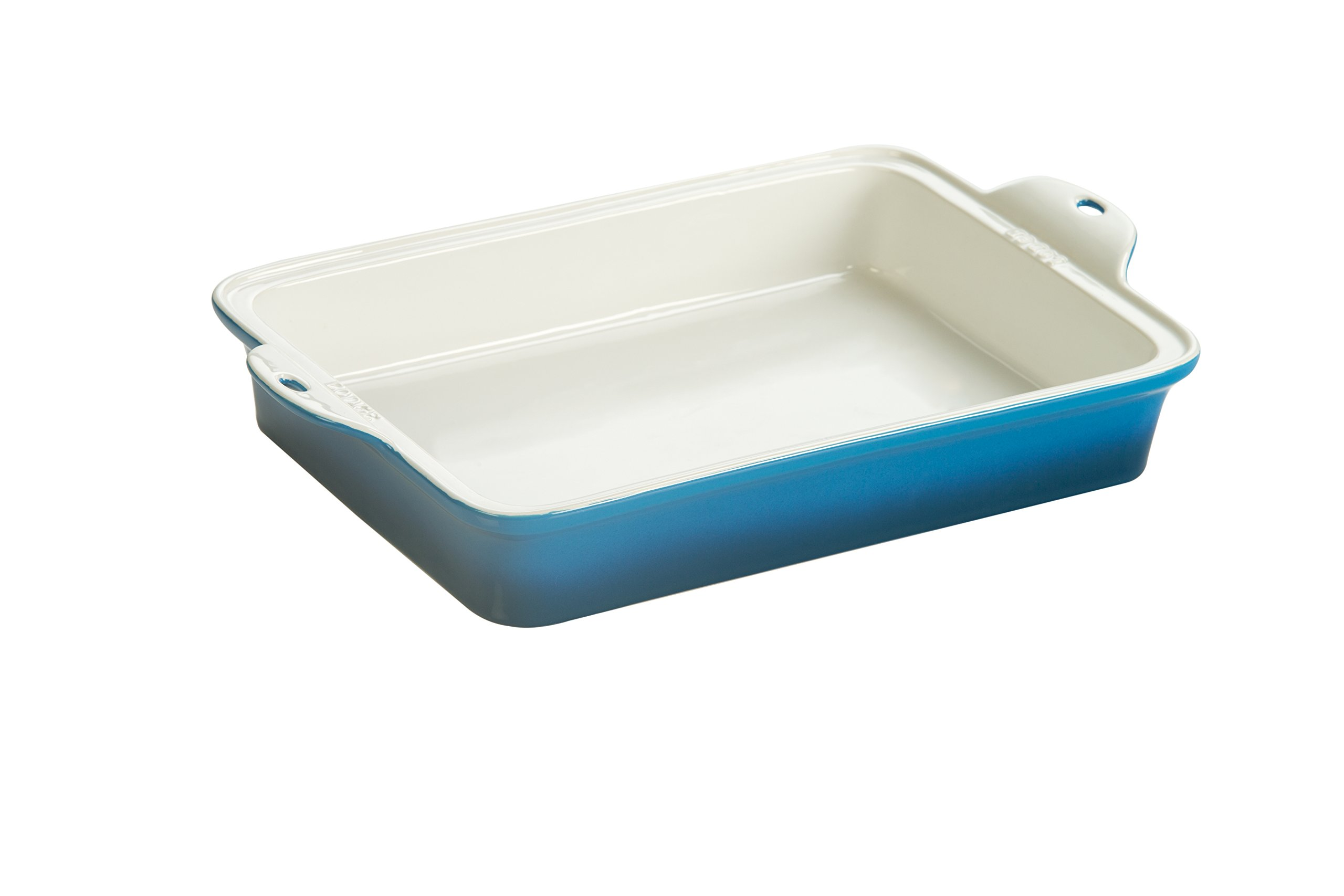 Lodge STW13RCT33 Stoneware Baking Dish, 9'' x 13'', Blue