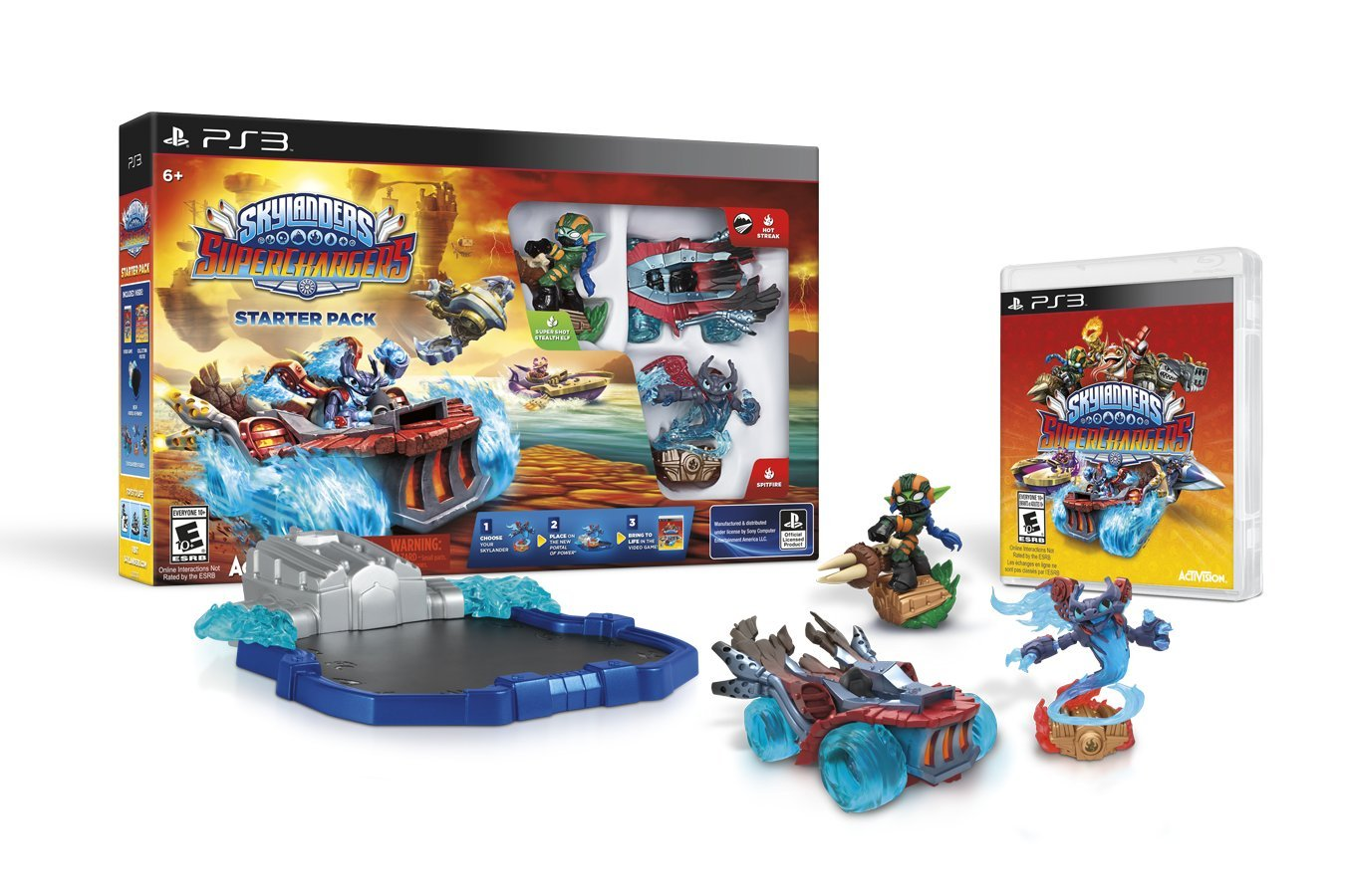 Skylanders SuperChargers Starter Pack - PlayStation 3 by Activision
