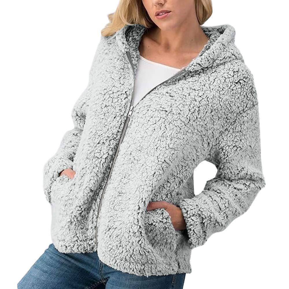 Clearance Sale! Caopixx Womens Elegant Fall Winter Long Sleeve Jacket Ladies Coat with Pockets Soft