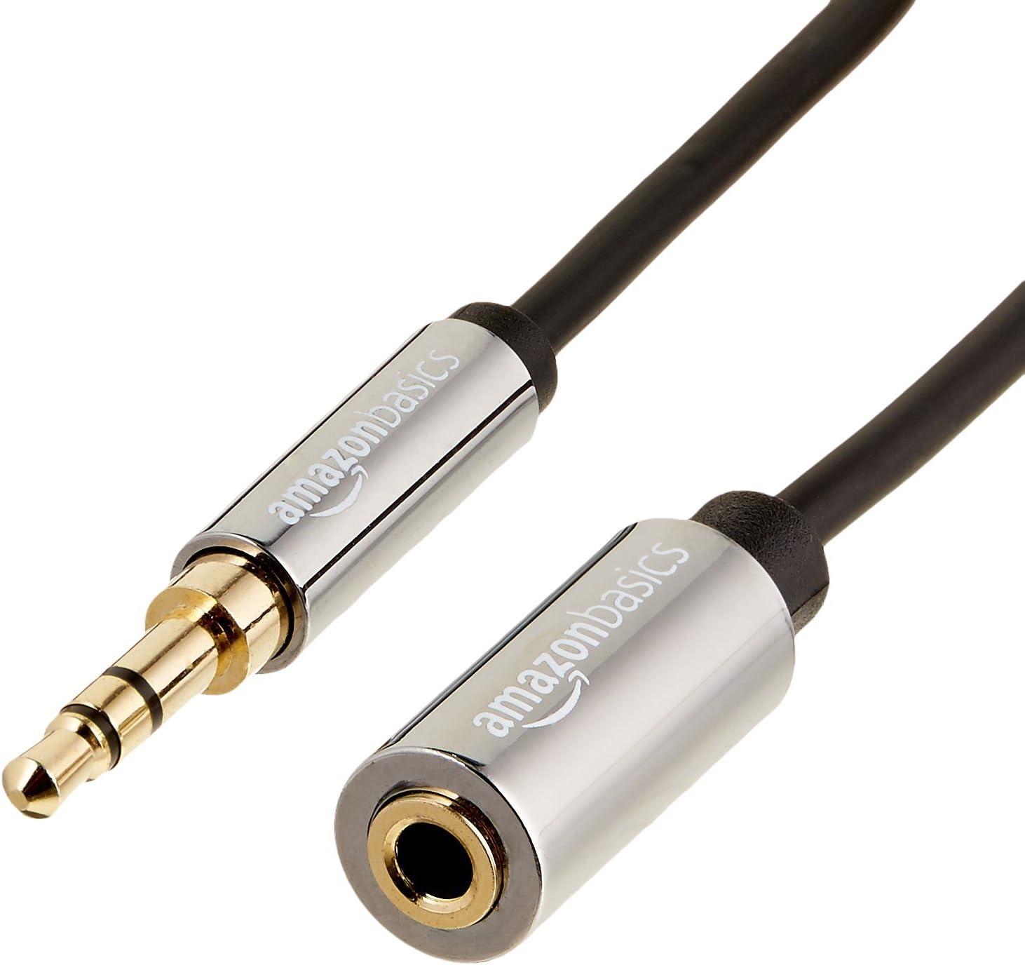 Amazon Basics Stereo Audio Verlängerungskabel Stecker Elektronik
