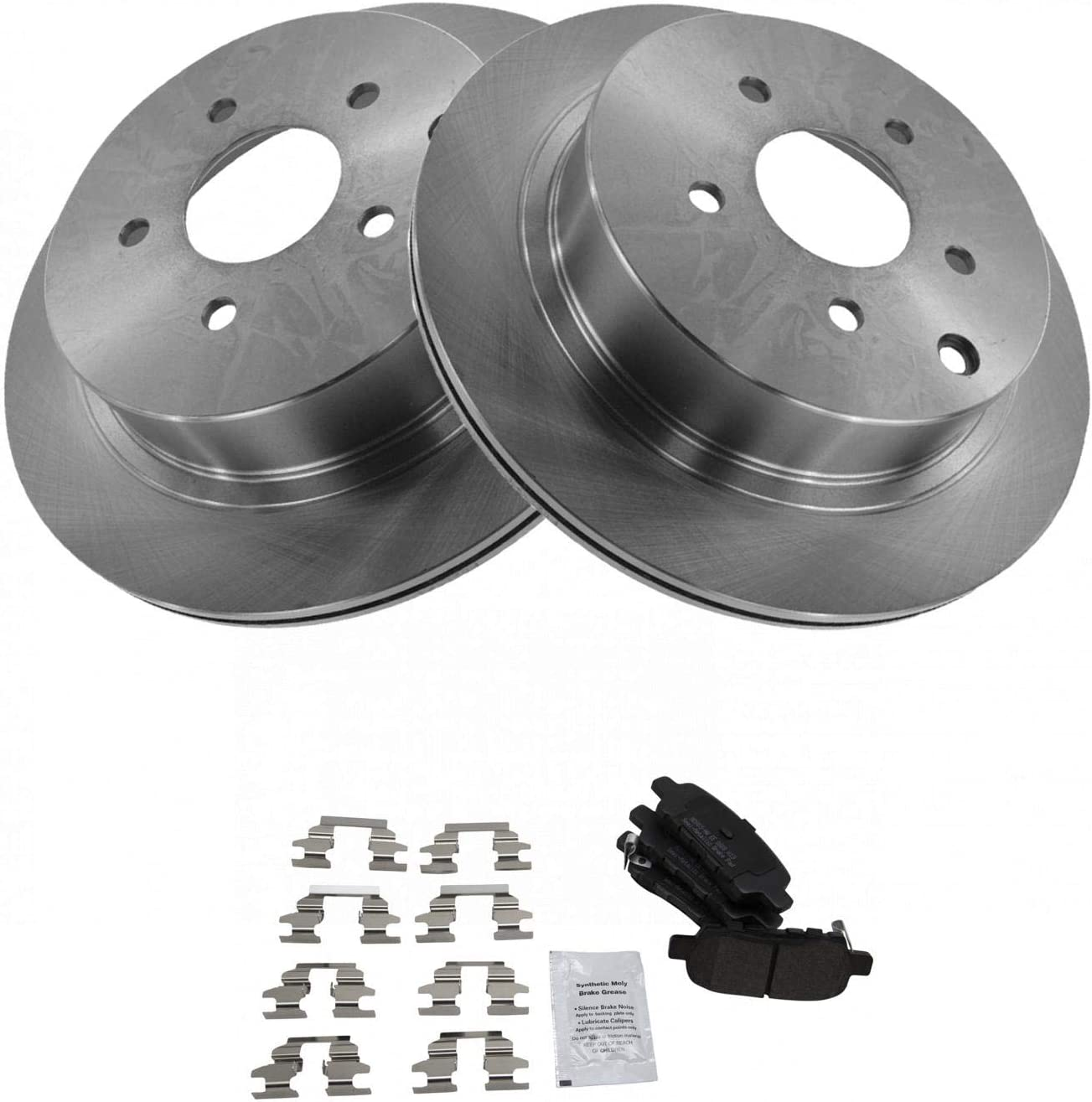 Front Premium Posi Metallic Disc Brake Pad Kit for Nissan Suzuki