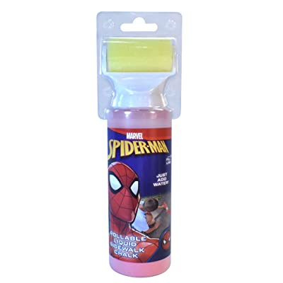 Marvel Spider-Man Chalk Roller: Toys & Games