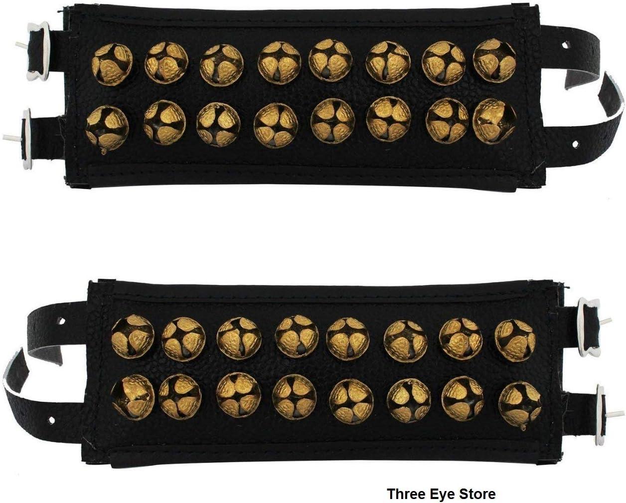 3 개의 눈 상점 GHUNGROO 가죽 패드 2 선 GHUNGRU2 선 가죽 패드 까만 가죽 패드 GHUNGROO2 선 각각에 20 종