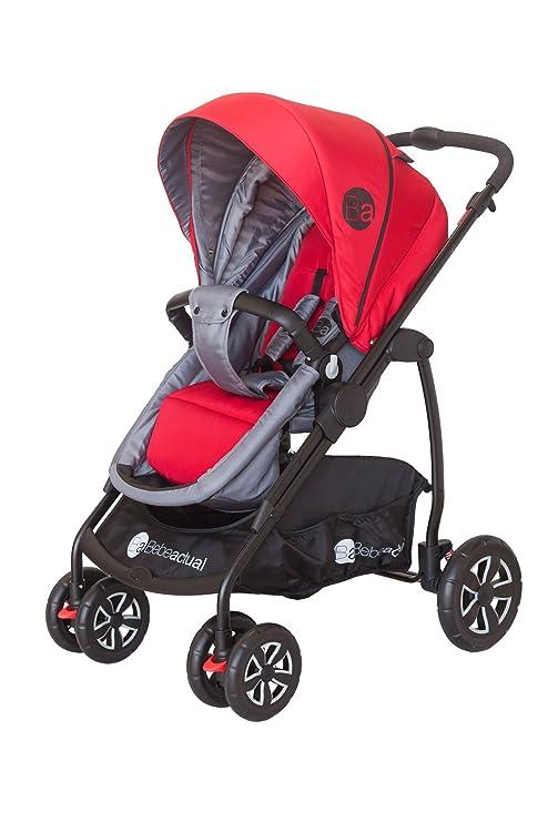 Asalvo Style - Trío silla de paseo, color rojo