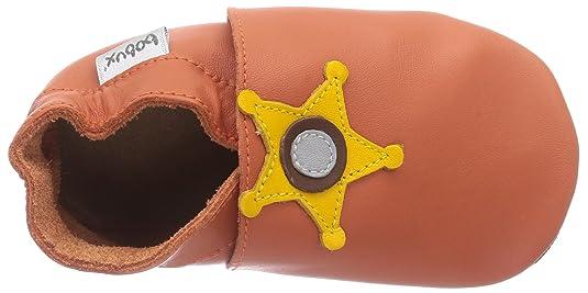 Bobux 460786 - Calzado de primeros pasos unisex, color orange, talla L