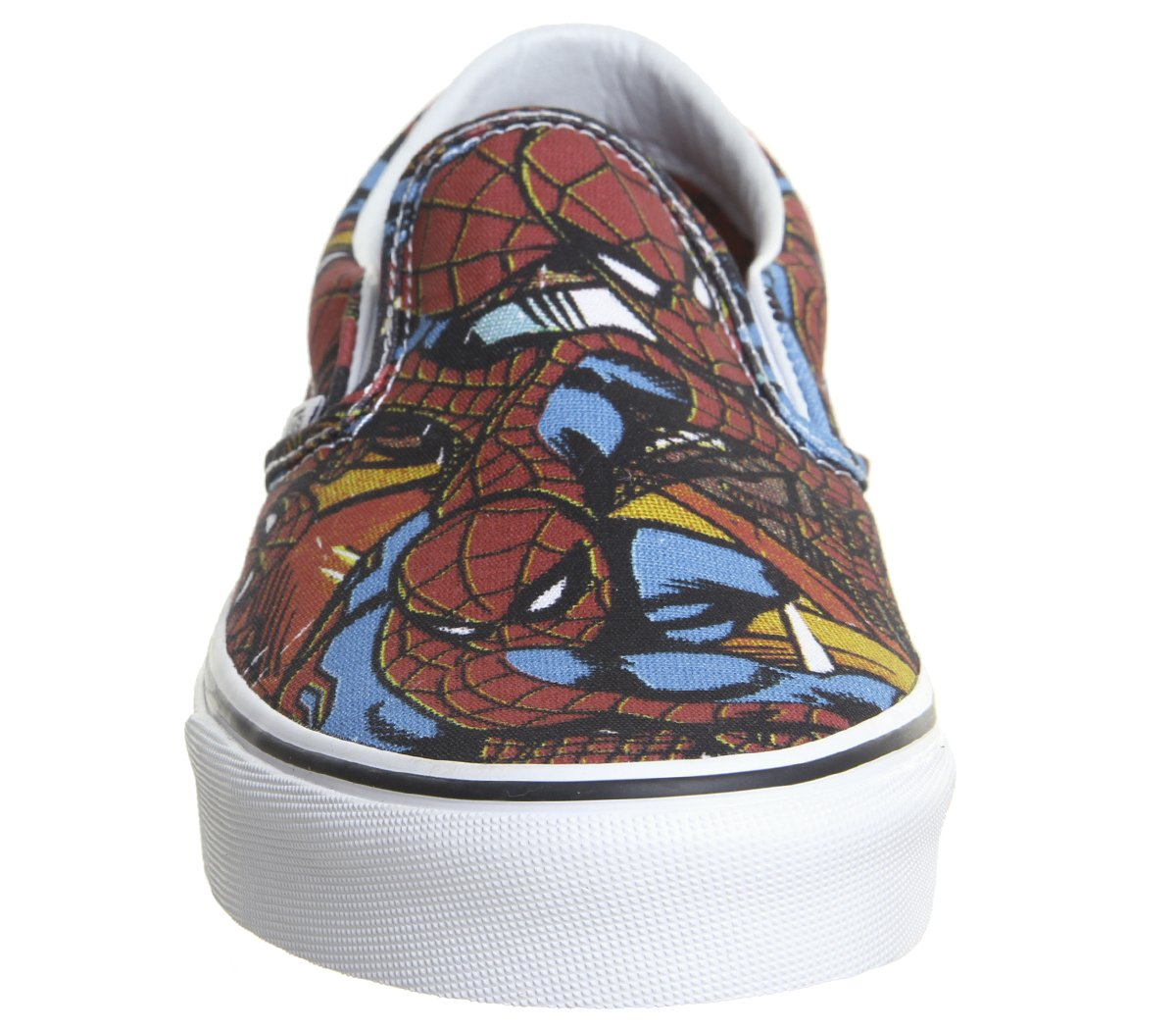Vans Unisex Classic (Checkerboard) Slip-On Skate Shoe B077TGCMNJ 9 M US Women / 7.5 M US Men|(Mavel) Spider-man/Black