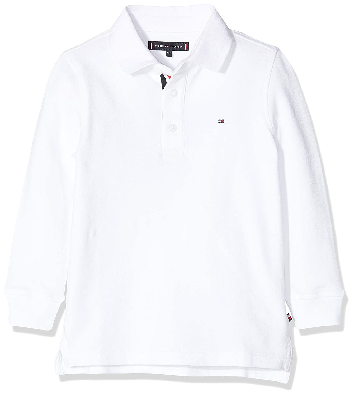 Tommy Hilfiger Essential Slim Fit Polo L/S Niños: Amazon.es: Ropa ...