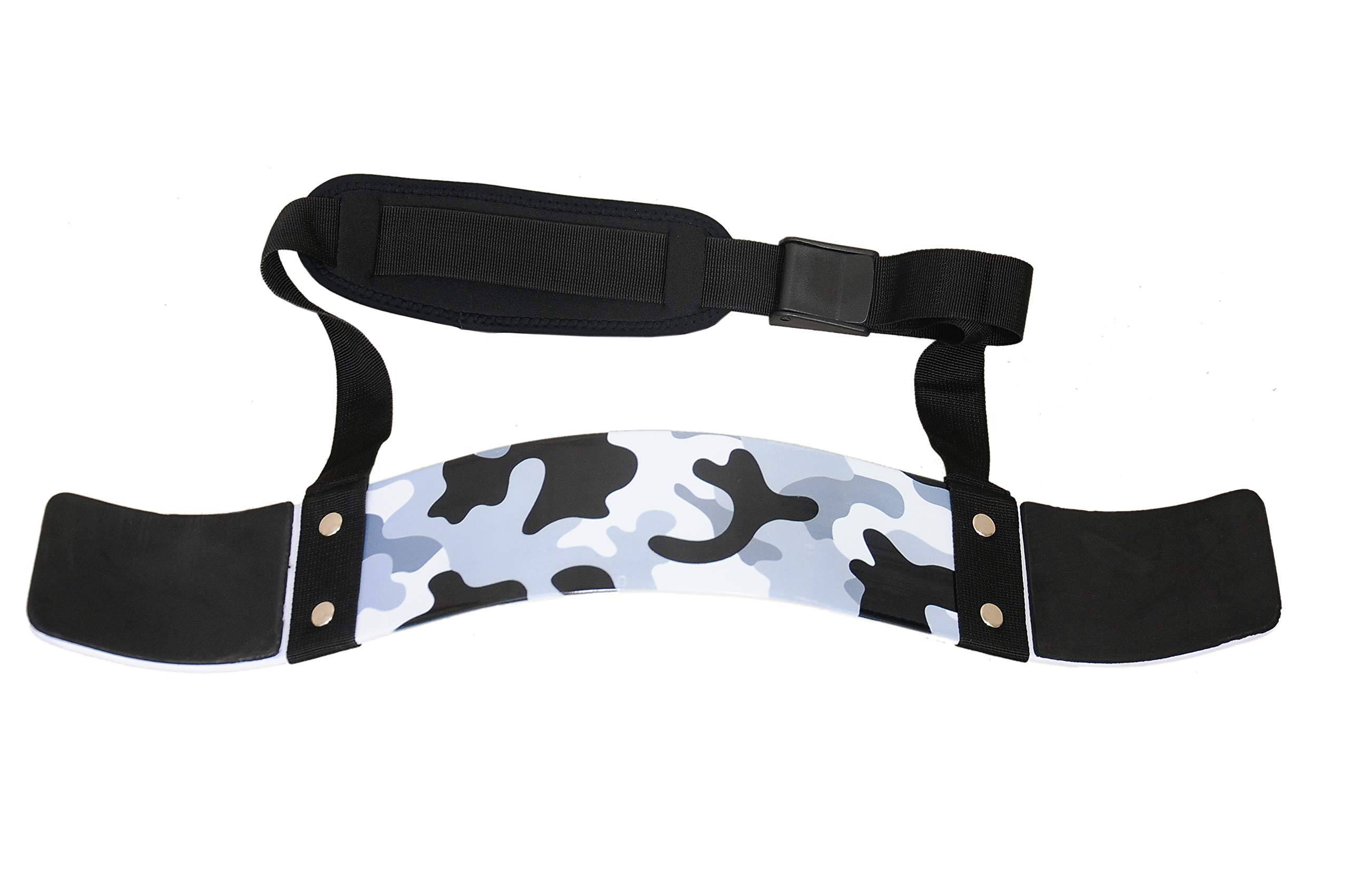 RAD Arm Blaster Body Building Bomber Bicep Curl Triceps Muscle Builder (Camo White)