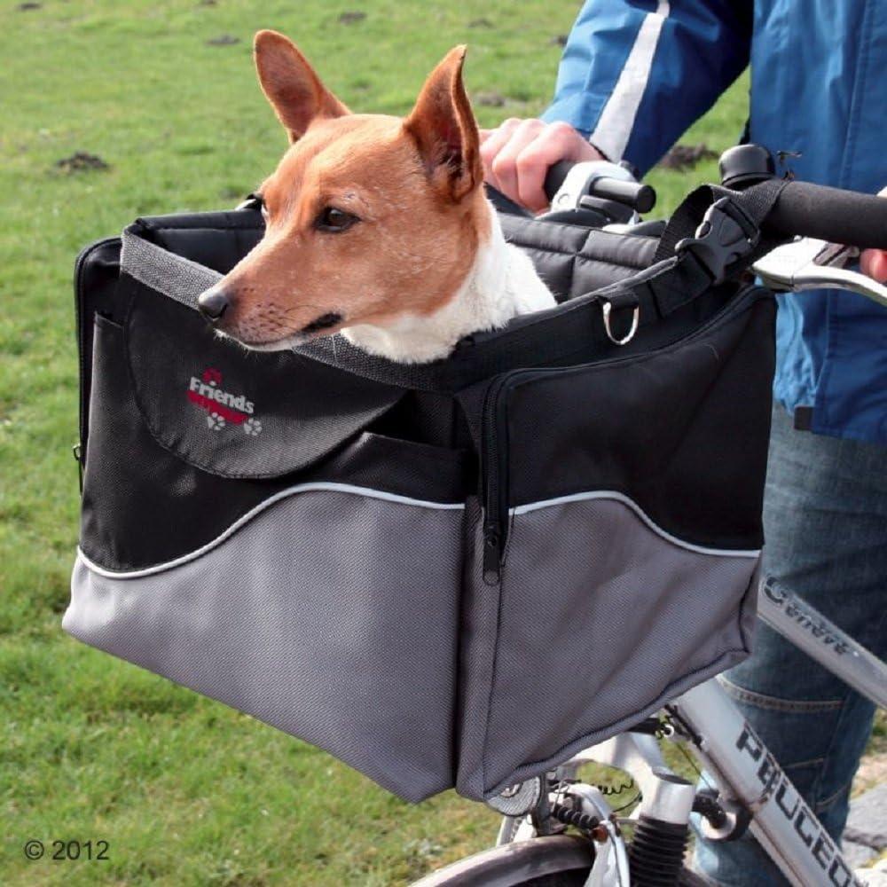 Cesta de bicicleta para perros, mascotas, parte delantera, para ...
