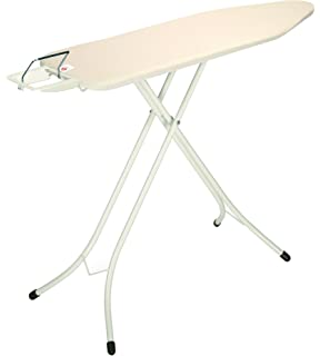 brabantia ironing board with steam iron rest size b standard ecru cover