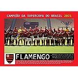 Pôster A4 - Flamengo Campeão Supercopa do Brasil - 2021