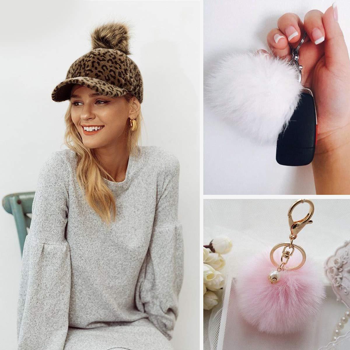 Charm Crafts DIY Faux Fur Pompom Ball For Hat Clothes Shoes Decor Accessories