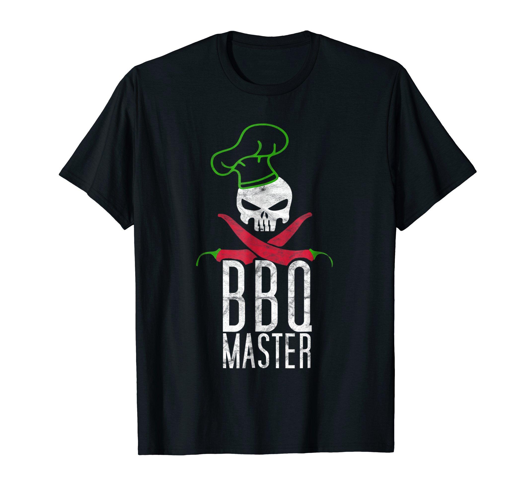 Grill Master BBQ Grilling Hobby T-Shirt Smoker Shirt