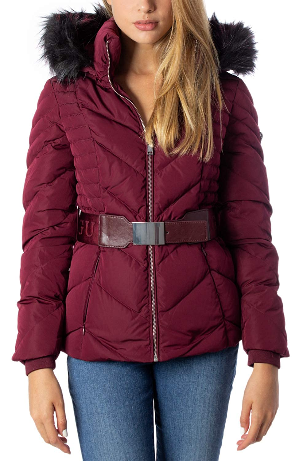 Guess Piumino Lungo Donna Petra Down Jacket w94l81w94g0