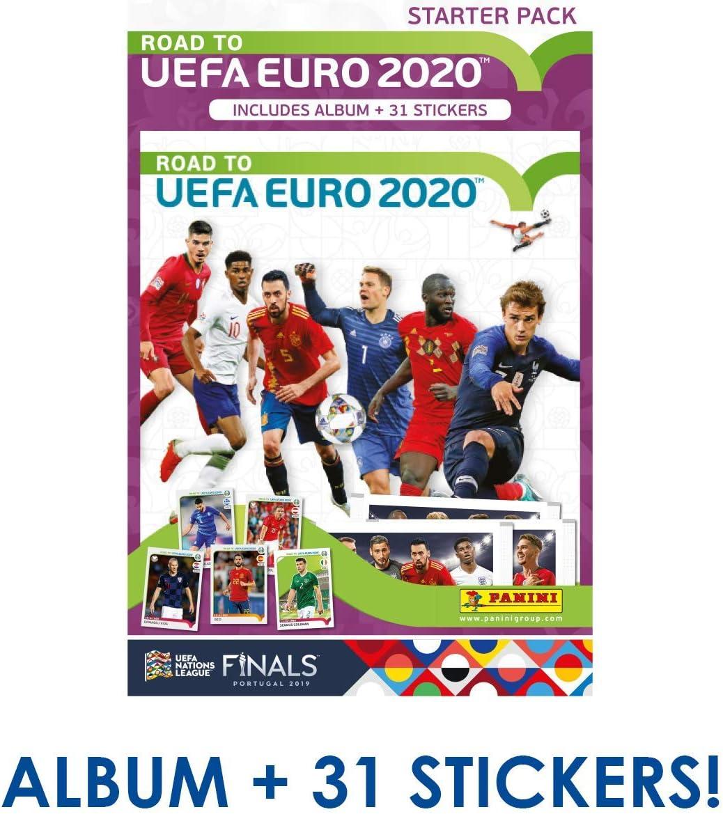 Juego de Pegatinas Panini UEFA Euro 2020