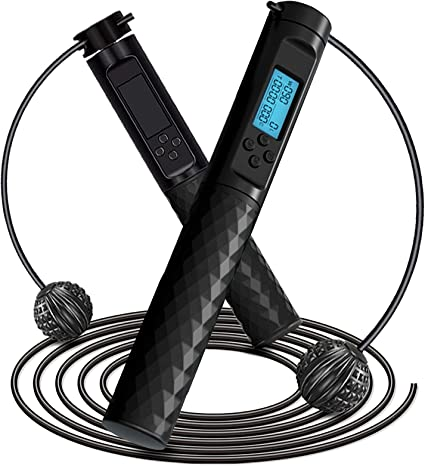 Jump Rope Calorie Fitness Electronic Wireless Skipping Rope