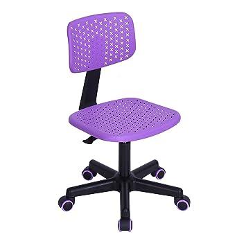 Ajustable Para Reposabrazos Sin Giratorio Task Los Niño Asiento Silla Oficina Back Ordenador Diseño Low De Estudio Furniturer O8Pnk0w