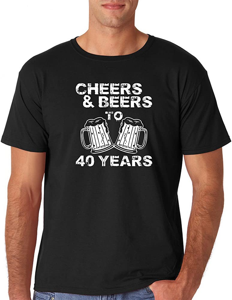 Amazon.com: AW Fashions Cheers y cervezas a 40 años – 40th ...