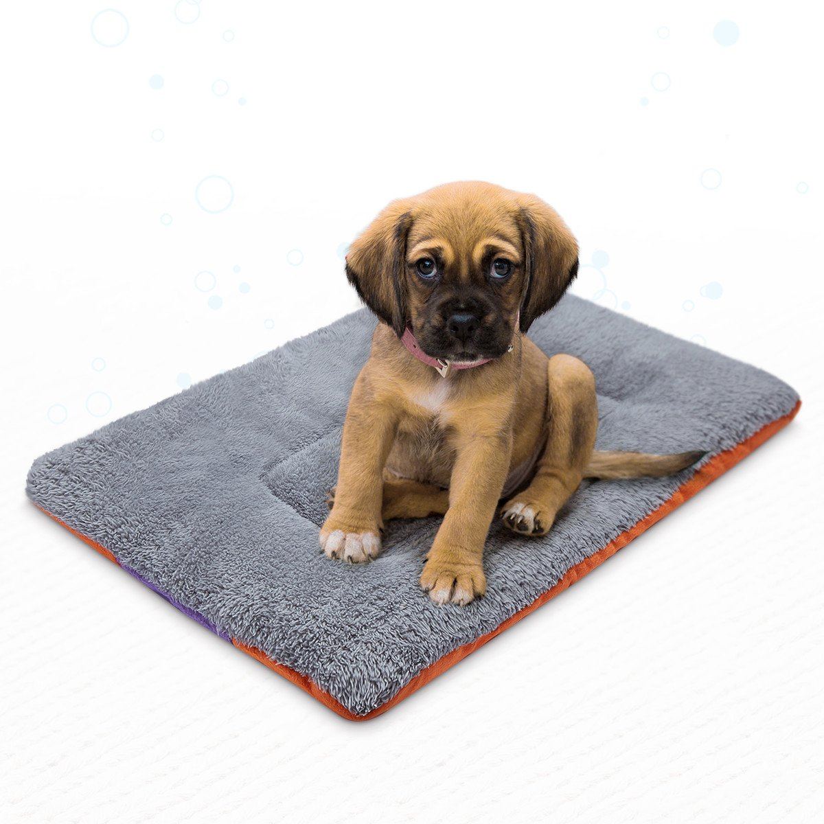 isYoung Pet Bed Mat, Cozy Bed Warm Bed for Cats and Dogs (L)
