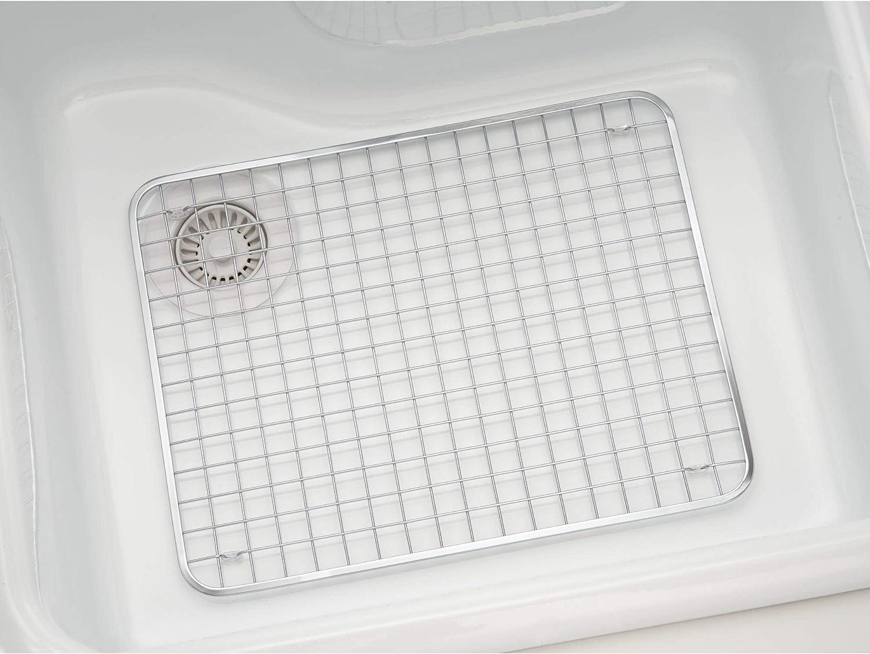 Idesign Large Gia Sink Grid Silver Amazon Co Uk Kitchen Home