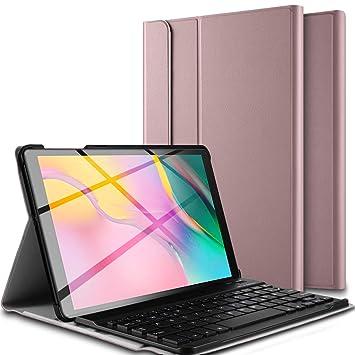 Amazon.com: Luibor - Funda con teclado para Samsung Galaxy ...