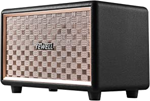 TEWELL Bluetooth Speaker with HD 24W Audio, Extended Bass and Treble, Knob for Volume Control, Toggle Switch and 3.5mm...