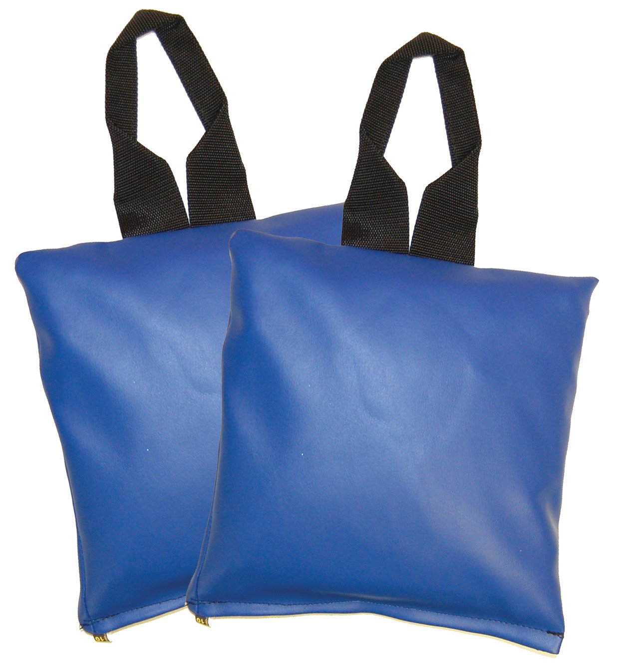 PDC Healthcare SB-729 Position Aid, 10 lb Sand Bag, Vinyl, 11'' x 11'', Blue (Pack of 2)