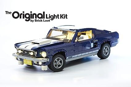 Ford Mustang Light My Bricks Lighting Kit for LEGO set 10265