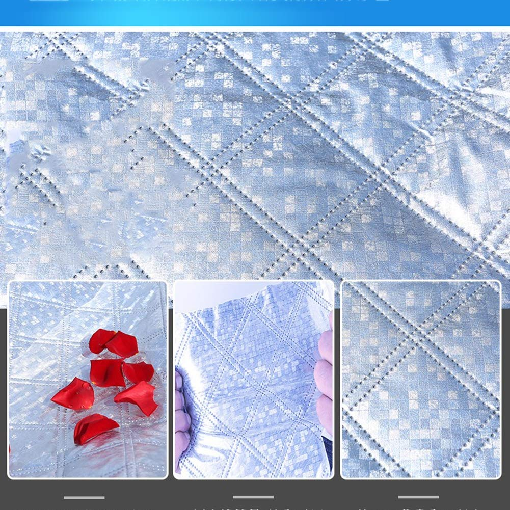 GXLXY Couvrir la moiti/é Couvercle du Pare-Brise Avant de la Voiture la Couverture Anti-Gel Isolant Pare-Soleil cr/ème Solaire Neige moiti/é fichier Avant /épaississement dhiver