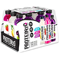 Protein20 12 Bottles 16.9 FL Oz Infused Water Clear Whey Isolate