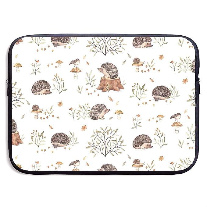 f54af4c0129b Amazon.com: Laptop Sleeve Bag Hedgehog Pattern Handbag Case Computer ...