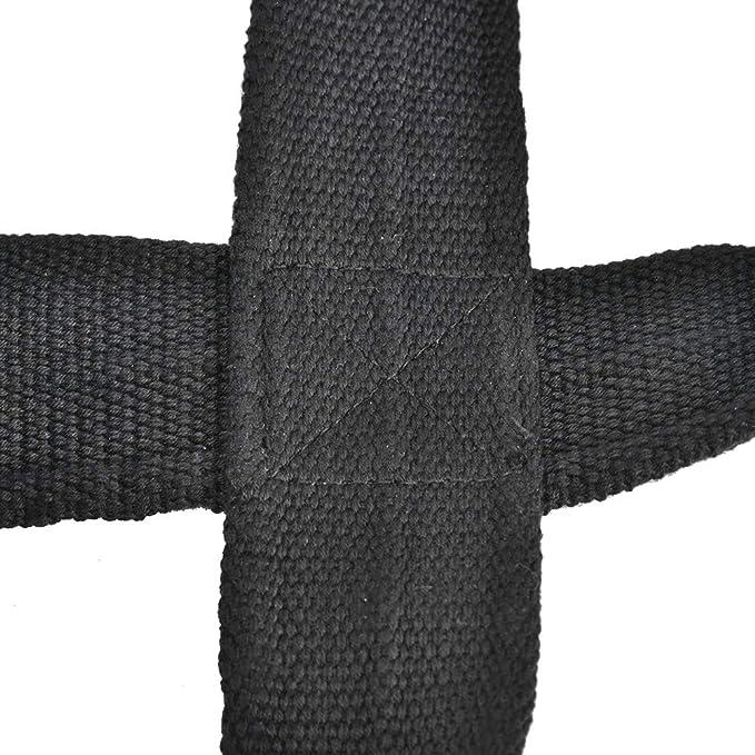 M SOONHUA 1 Paire Figure 8 Sangles de Levage de Poids Dragonne de Levage pour Les Tractions Barre Horizontale /Équipement de Musculation Gynfitness Powerlifting