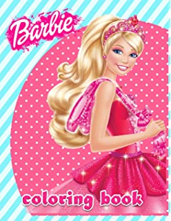 Amazon Com Barbie Coloring Book Great Coloring Pages For Girls