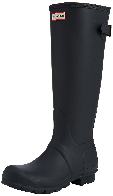 Hunter Womens Original Back Adjustable Rain Boots B00K1XUPT2 7 B(M) US|Navy